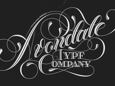 Avondale Type Co Print