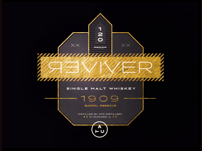 Reviver Whiskey Gold